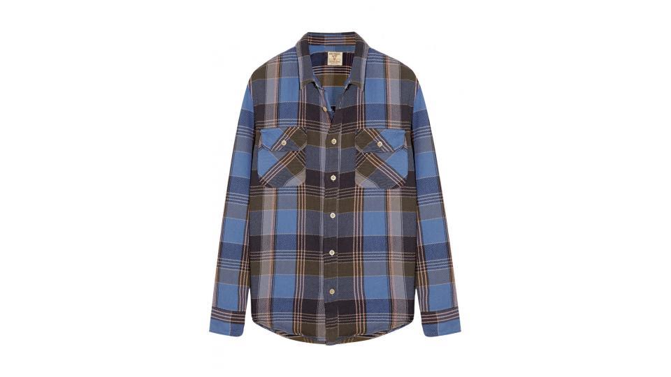 рубашка LEVI'S VINTAGE CLOTHING,  ок. 11,400 руб. (фото с сайта net-a-porter.com)