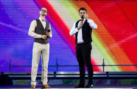 гала-концерт, посвящённый закрытию Российской студенческой весны 2015