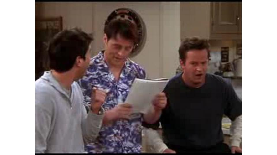Из Джоуи получился отличный ведущий «Одураченного». А Росс как втянулся!