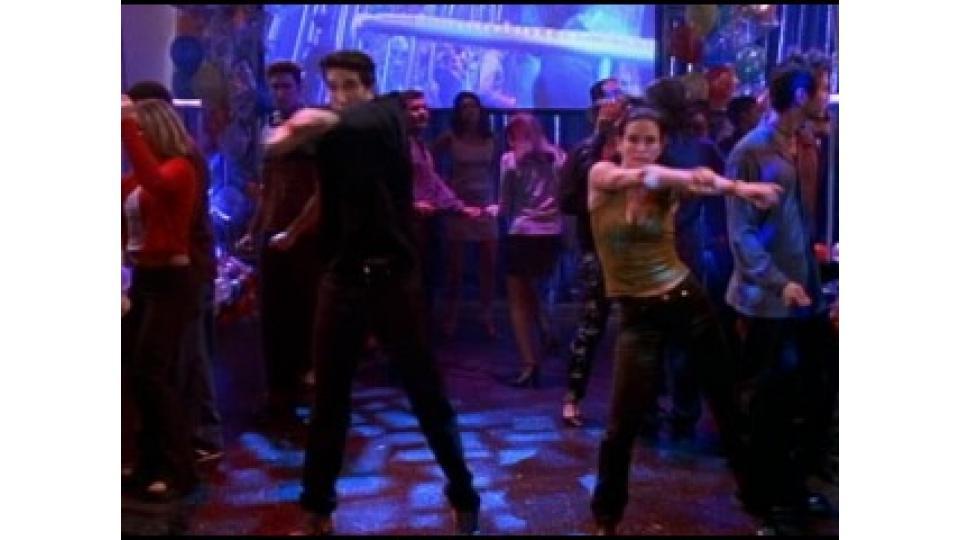 Росс с Моникой придумали свой танец еще в школе