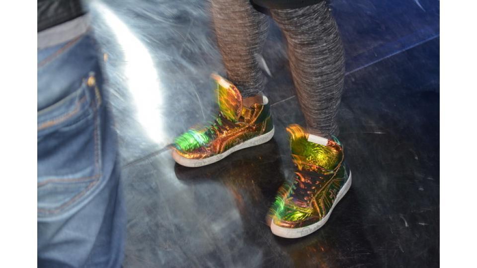 У Мигеля много крутых кроссовок. Эту обувь он как хореограф ценит