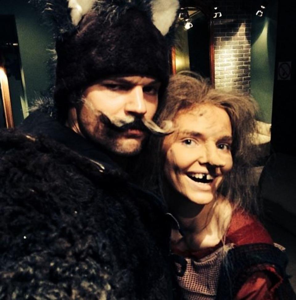 Данила Козловский и Лиза Боярская — лесные красавцы