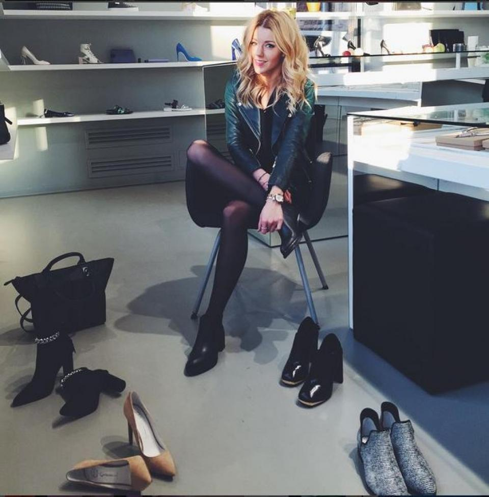 Юлианна Караулова отправилась на шопинг