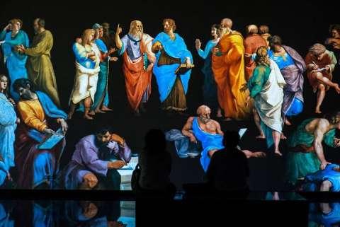 Мультимедийная выставка Ренессанс Живые полотна