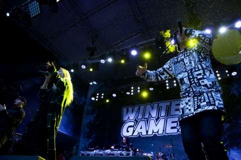 WINTER GAMES в Лужниках