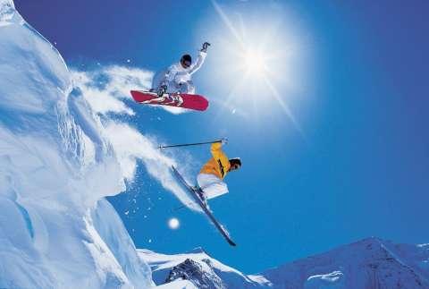 Горные лыжи или сноуборд?