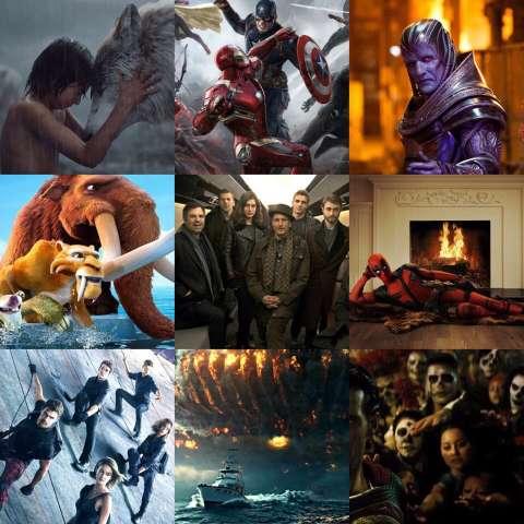 Самые ожидаемые кинопремьеры 2016 года