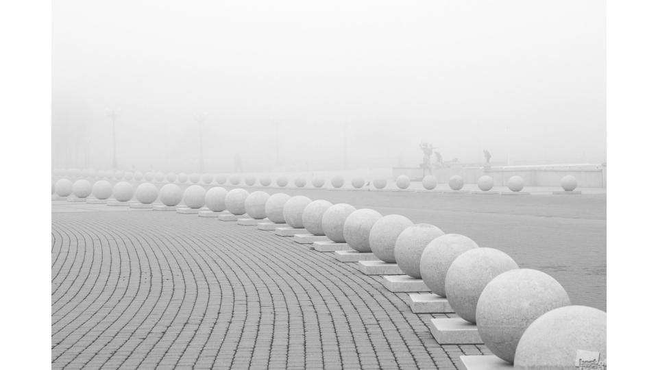 Игорь Крыжко. Туманным утром