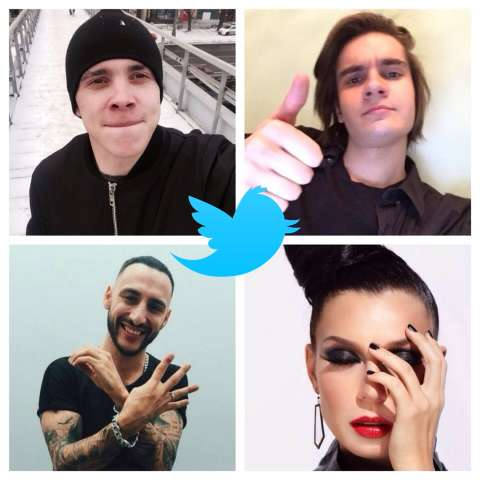 О чем пишут звезды в Твиттере