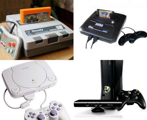 Эволюция игровых приставок