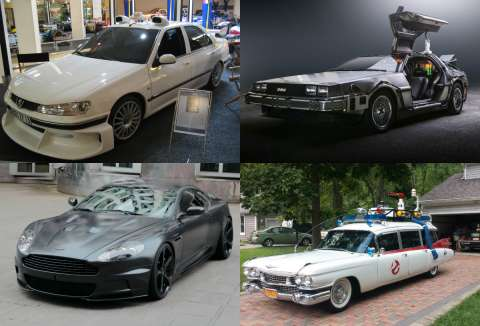Легендарные автомобили из фильмов
