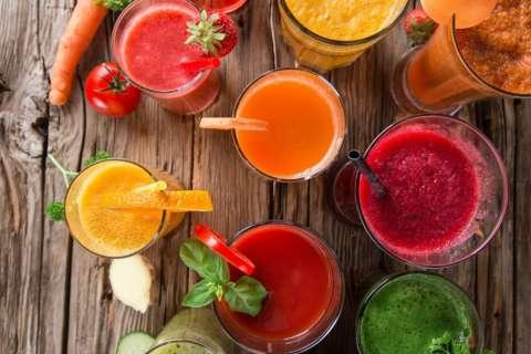 5 полезных соков