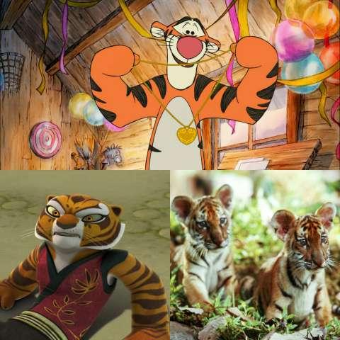 Международный День Тигра: образы из кино и мультфильмов
