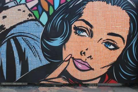 Самые крутые граффити Москвы