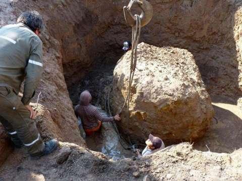 В Аргентине обнаружили огромный метеорит