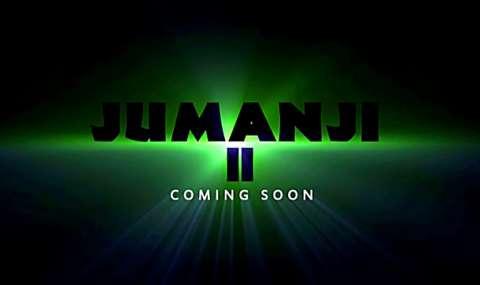 Первый кадр нового «Джуманджи»