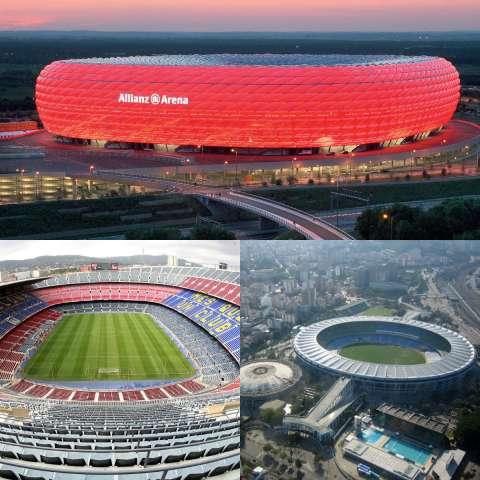 Самые крутые стадионы мира