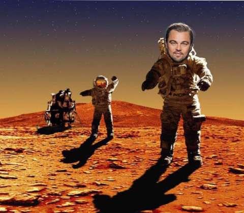 Леонардо Ди Каприо полетит на Марс