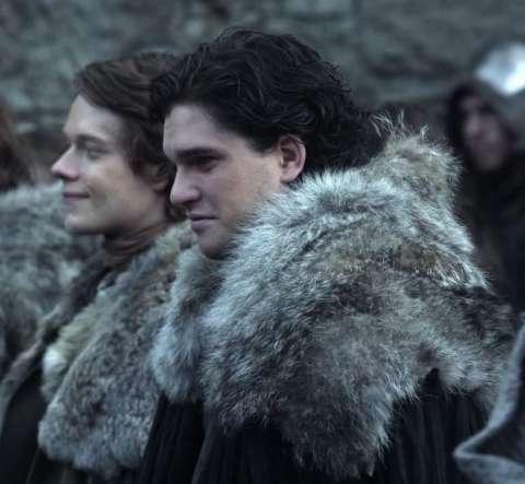 Джон Сноу встретится с Теоном Грейджоем в новом сезоне «Игры престолов»