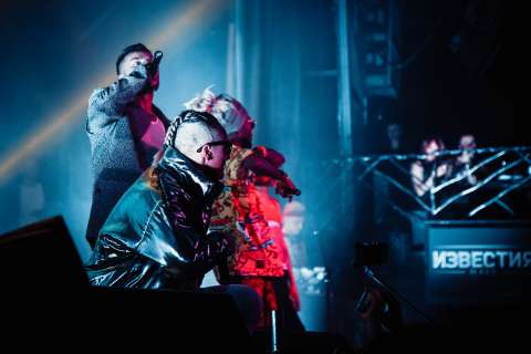 Quest Pistols Show «подожгли» Москву