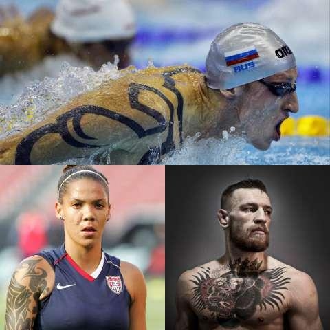 Татуированный спорт: спортсмены и их татушки