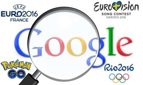Google составил рейтинг самых популярных запросов 2016-ого года