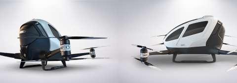 Больше никаких пробок: в Дубае представлен первый летающий автомобиль