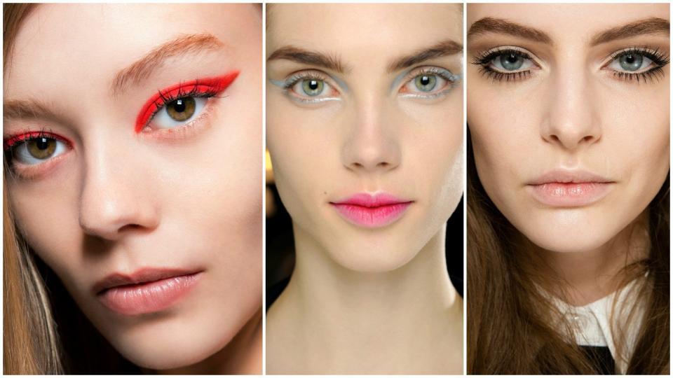 Смотреть Четыре главных весенних тренда в макияже. В центре внимания-яркий цветовой акцент видео