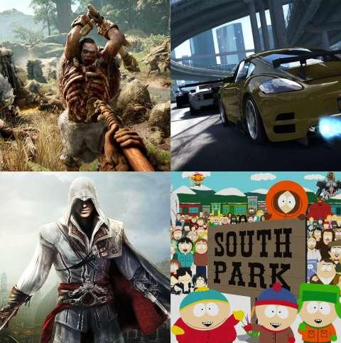 Выйдут новые части игр Assassin's Creed, Far Cry 5 и South Park