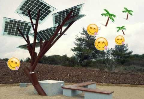«Солнечное» дерево раздаст Wi-Fi