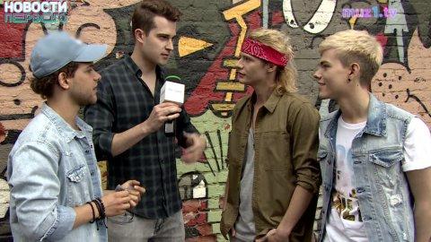 Съёмки клипа группы «Лови»