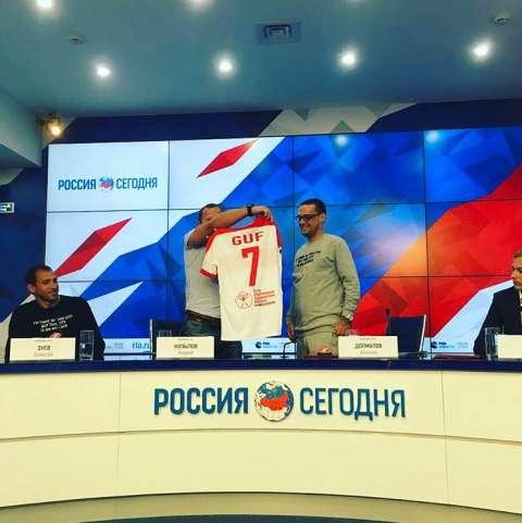 Guf стал дизайнером футбольного клуба «Спартак»