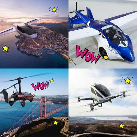 ТОП-5 летающих автомобилей
