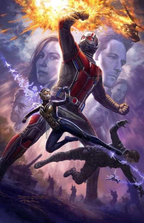Стартовали съемки фильма Marvel «Человек-муравей и Оса»