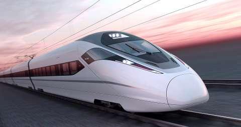 В Пекине испытывают поезд на магнитной подушке