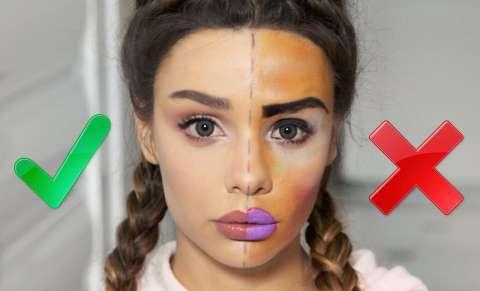 Виртуальное зеркало поможет «примерить» макияж