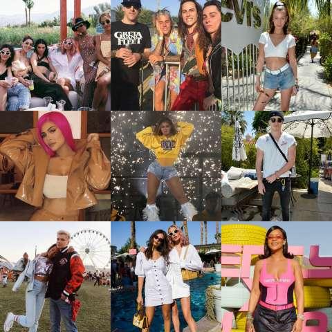 Как потусили звёзды на фестивале «Coachella»