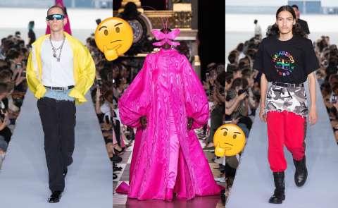 Провалы на неделе моды в Париже