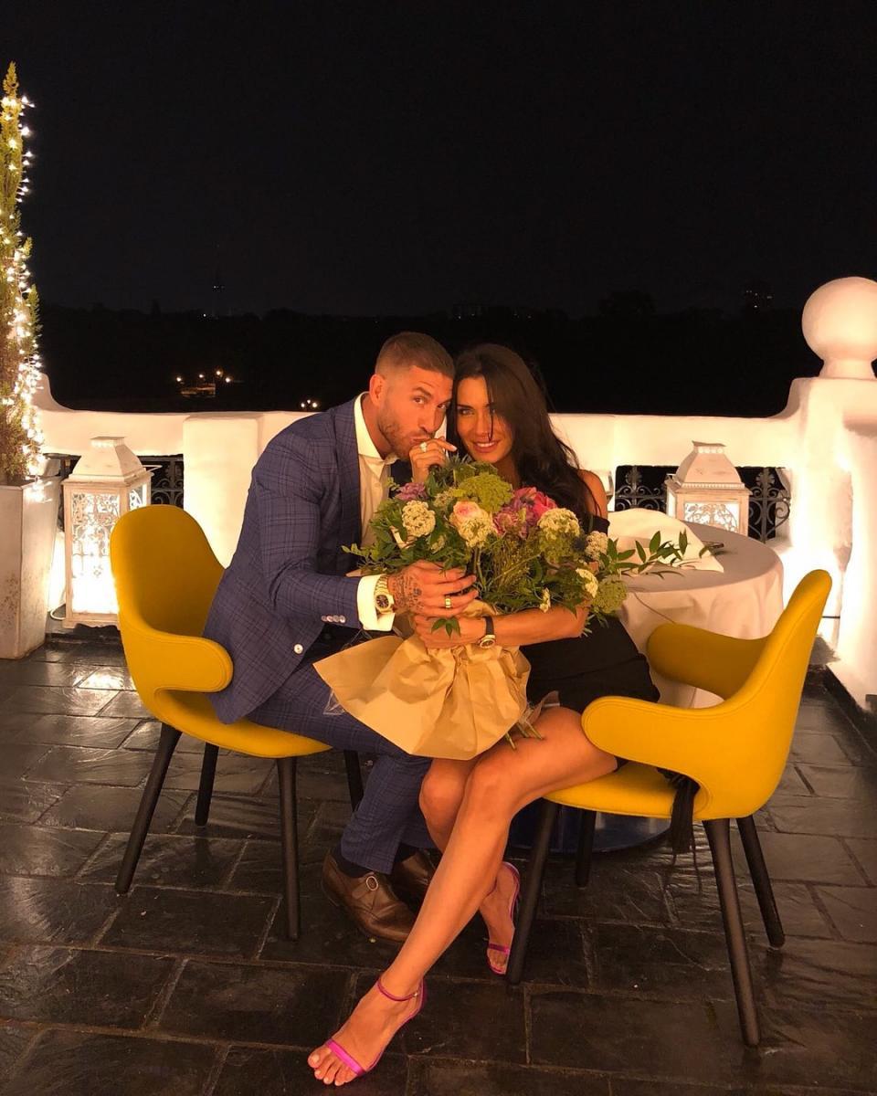 Серхио рамос женится