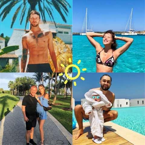 ИнстаСкрин: звёзды на каникулах