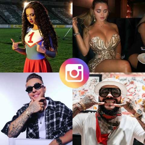 Instagram-рейтинг российских звёзд