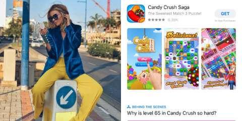 В какие игры играют звёзды на телефоне?