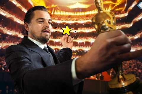 У Леонардо Ди Каприо забрали «Оскар»