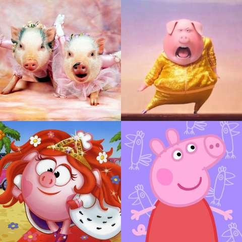 Какая ты свинья?