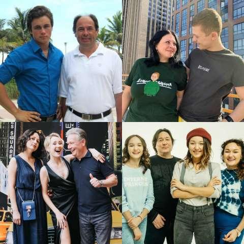 Как выглядят родители блогеров?