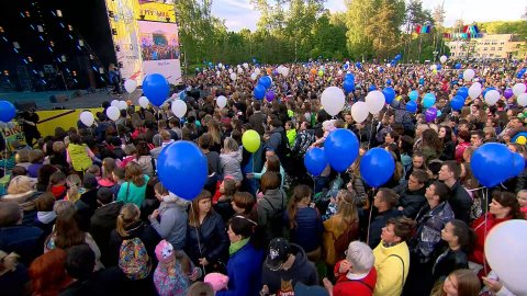 Дубна - Гала-концерт Музыки Первого. Часть 1